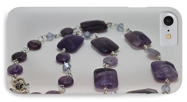 3575 Amethyst Necklace IPhone Case