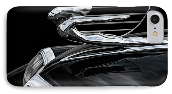 37 Cadillac Hood Angel IPhone Case by Douglas Pittman
