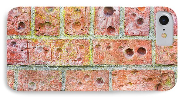 Brick Wall IPhone Case by Tom Gowanlock