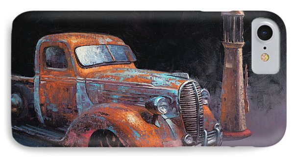 Truck iPhone 7 Case - 38 Fat Fender Ford by Cody DeLong