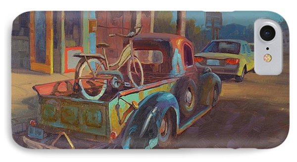 Truck iPhone 7 Case - 38' Ford In Jerome, Az by Cody DeLong
