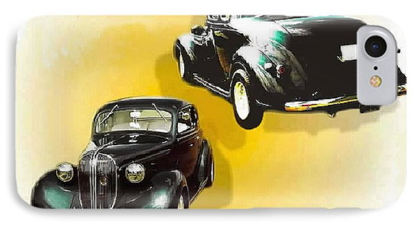 '38 Plymouth IPhone Case by Sadie Reneau