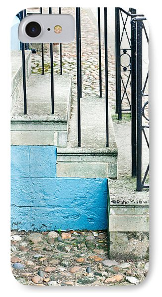 Stone Steps IPhone Case by Tom Gowanlock