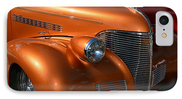39 Chev Nose Detail IPhone Case by Bill Dutting