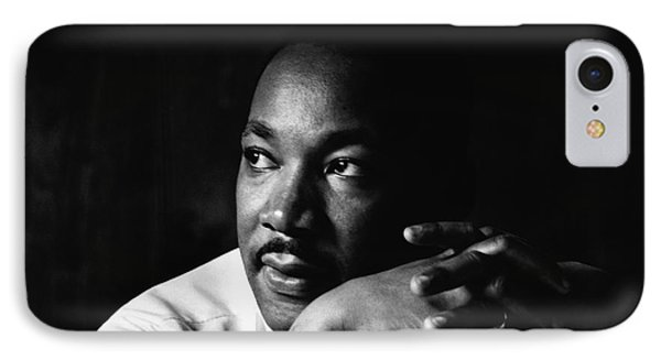 39- Martin Luther King Jr. IPhone Case by Joseph Keane