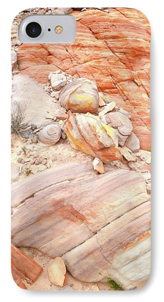 IPhone Case featuring the photograph Multicolored Sandstone In Valley Of Fire by Ray Mathis