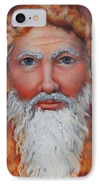 3d Santa IPhone Case by Enzie Shahmiri