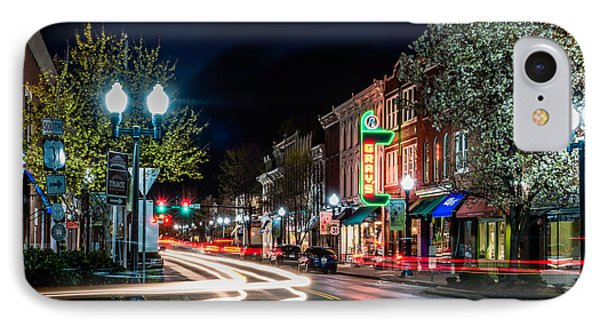 Franklin, Tennessee - 3rd And Main IPhone Case