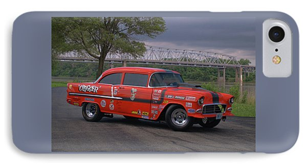 IPhone Case featuring the photograph 1955 Chevrolet by Tim McCullough
