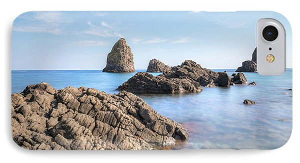 Aci Trezza - Sicily IPhone 7 Case by Joana Kruse