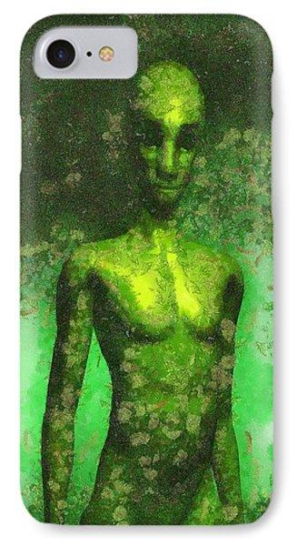 Alien Art By Raphael Terra IPhone Case