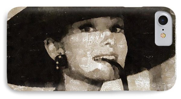 Audrey Hepburn Hollywood Actress IPhone Case