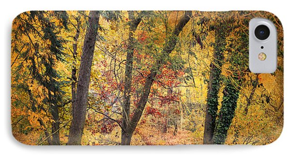 Autumn Canvas Phone Case by Jessica Jenney