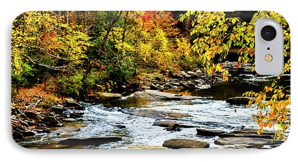 Autumn Middle Fork River IPhone Case by Thomas R Fletcher