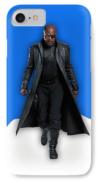 Avengers Nick Fury Collection IPhone Case