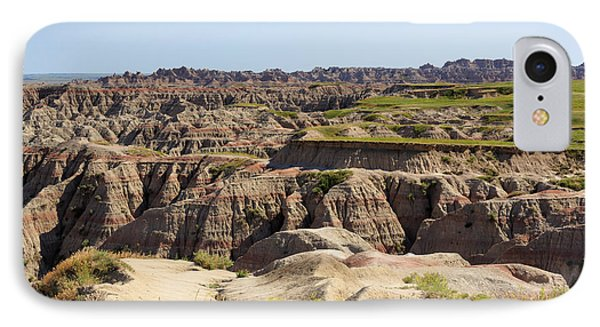 Badlands National Park South Dakota Phone Case by Louise Heusinkveld
