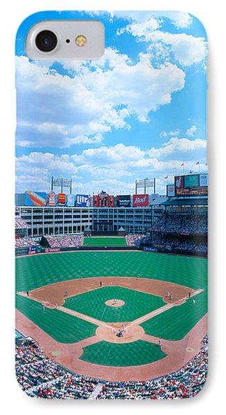 Baseball Stadium, Texas Rangers V IPhone Case by Panoramic Images