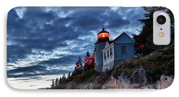 Bass Harbor Lighthouse Phone Case by John Greim