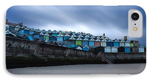 Beach Huts IPhone Case by Martin Newman