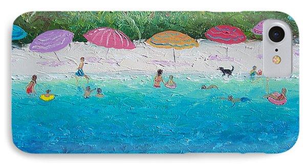 Beach Umbrellas IPhone Case by Jan Matson