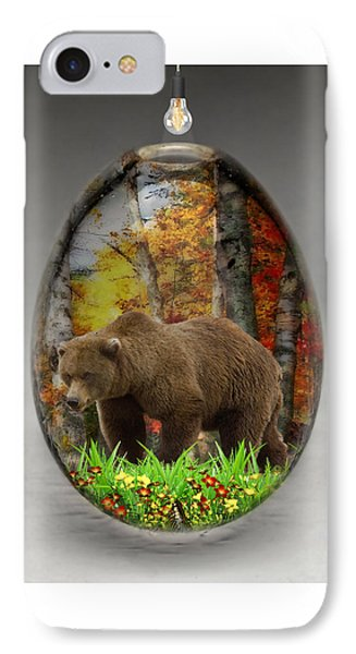 Bear Art IPhone Case by Marvin Blaine