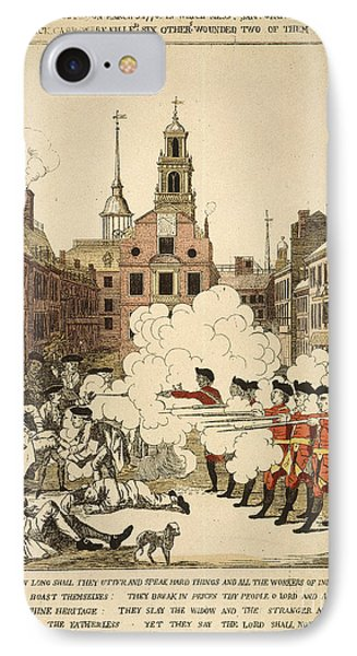 Boston Massacre, 1770 IPhone Case