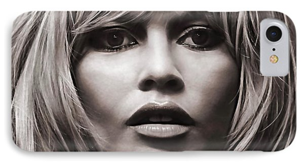 Brigitte Bardot Collection IPhone Case by Marvin Blaine