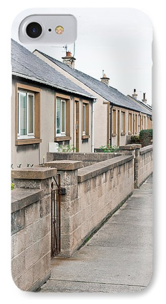 Bungalows IPhone Case by Tom Gowanlock