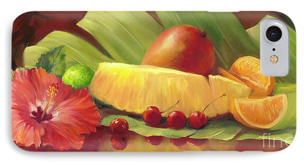 4 Cherries IPhone Case by Laurie Hein