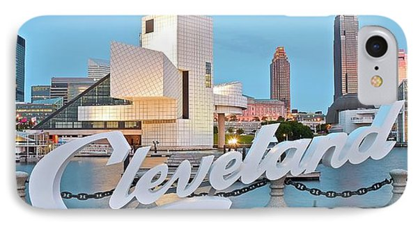 Cleveland Ohio IPhone Case by Frozen in Time Fine Art Photography