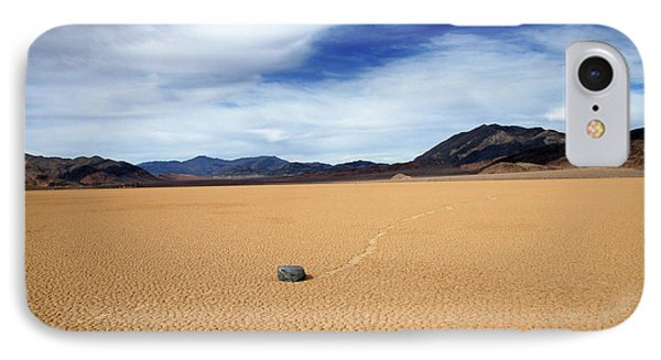 IPhone Case featuring the photograph Death Valley Racetrack by Breck Bartholomew