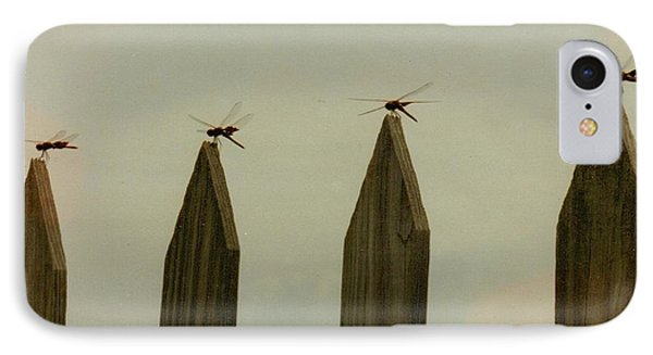4 Dragon Flies...... IPhone Case