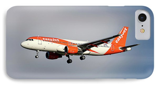 Jet iPhone 7 Case - Easyjet Airbus A320-214 by Smart Aviation
