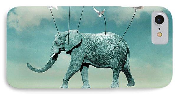 Elephant IPhone Case by Mark Ashkenazi