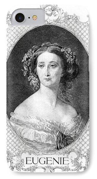 Empress Eugenie Of France Phone Case by Granger
