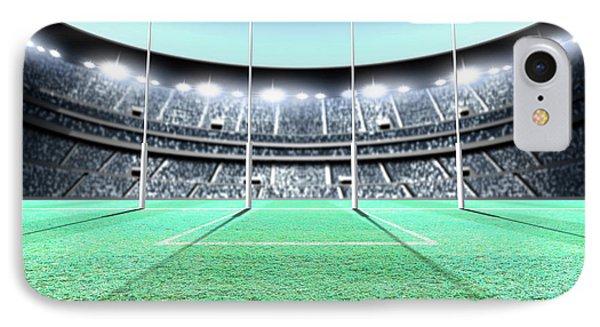 Floodlit Stadium Night IPhone Case