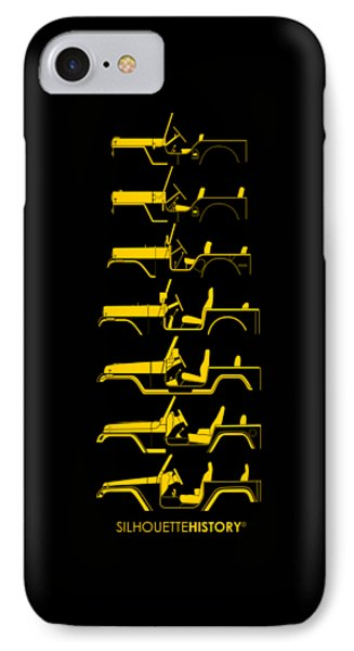 General Purpose Silhouettehistory IPhone Case