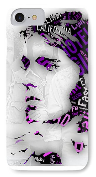 Glenn Frey Eagles Collection IPhone Case by Marvin Blaine