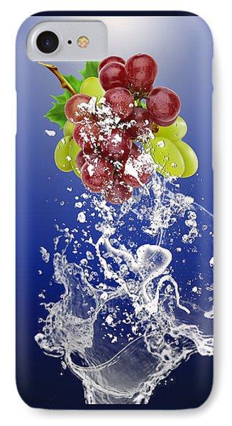 Grape Splash IPhone Case