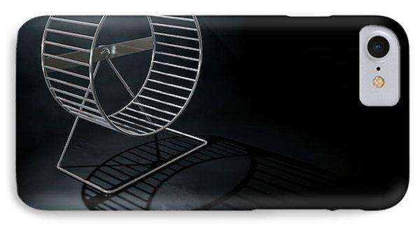 Hamster Wheel Empty IPhone Case by Allan Swart