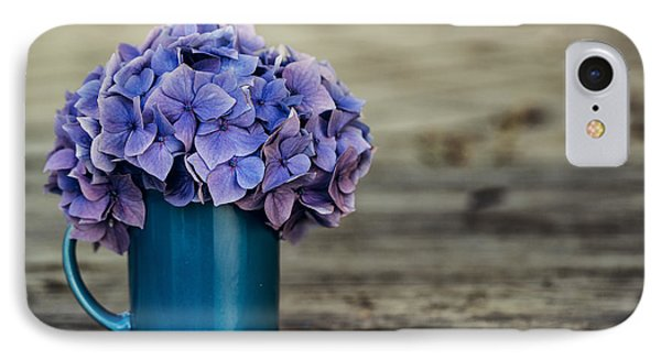 Hortensia Flowers IPhone Case by Nailia Schwarz