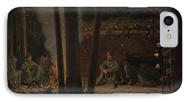In Front Of Yorktown IPhone Case by Winslow Homer