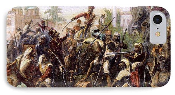 India: Sepoy Mutiny, 1857 Phone Case by Granger