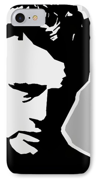 James Dean  IPhone 7 Case by Mark Ashkenazi