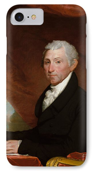James Monroe IPhone Case by Gilbert Stuart