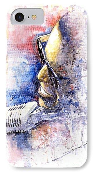 Jazz Ray Charles Phone Case by Yuriy  Shevchuk