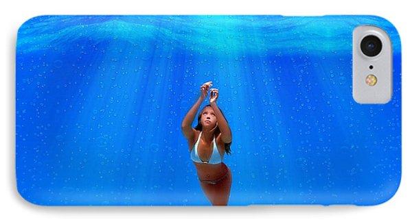 Jessica Alba iPhone 7 Case - Jessica Alba by Kimmy Jardetzky
