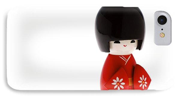 Kokeshi Doll Phone Case by Larry Dale Gordon - Printscapes