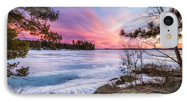 IPhone Case featuring the photograph Lake Winnipesaukee by Robert Clifford