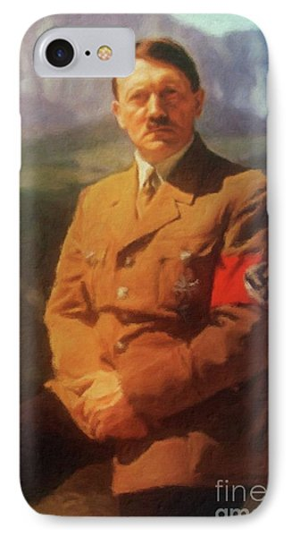 Leaders Of Wwii - Adolf Hitler IPhone Case